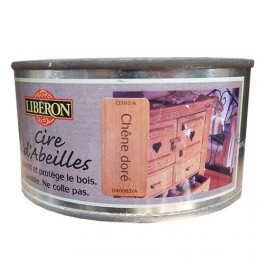 LIBÉRON Cire d'Abeille Chêne Doré (pâte)