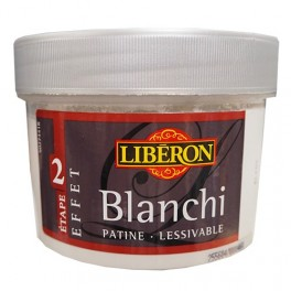 LIBÉRON Peinture Effet Blanchi Blanc