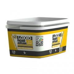 LOXXO Peinture Façade Acrylique 2,5L Blanc