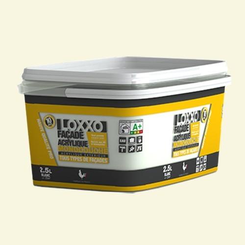 loxxo peinture fa ade acrylique 2 5l pas cher en ligne. Black Bedroom Furniture Sets. Home Design Ideas