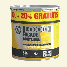 LOXXO Peinture Façade Acrylique 12L Meulière