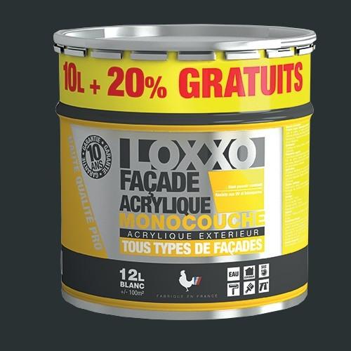 LOXXO Peinture Façade Acrylique 12L Anthracite RAL 7016