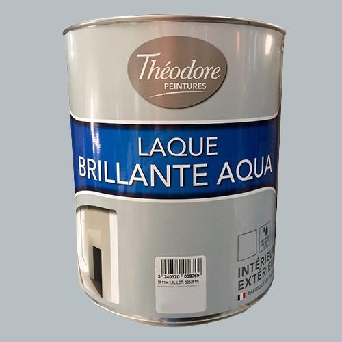 Théodore Laque Brillante Aqua Gravier