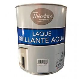Théodore Laque Brillante Aqua Blanc