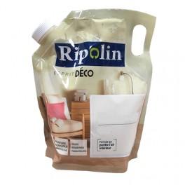"""RIPOLIN Poche de Peinture Acrylique """"Esprit Déco"""" 1L Blanc satin"""
