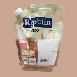 """RIPOLIN Poche de Peinture Acrylique """"Esprit Déco"""" 1L Bambou satin"""
