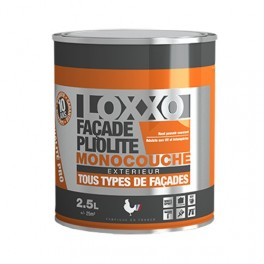 LOXXO Peinture Façade Pliolite 2,5L Blanc