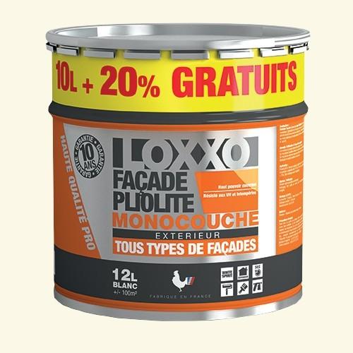 LOXXO Peinture Façade Pliolite 12L Meulière