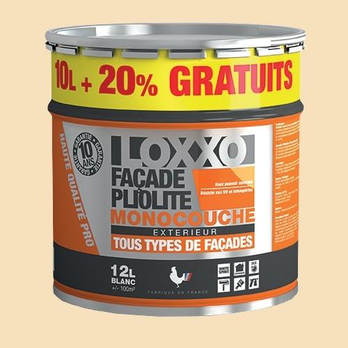 LOXXO Peinture Façade Pliolite 12L Ton pierre