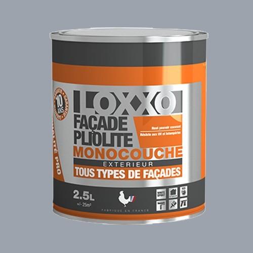 LOXXO Peinture Façade Pliolite 2,5L Gris ciment RAL 7040