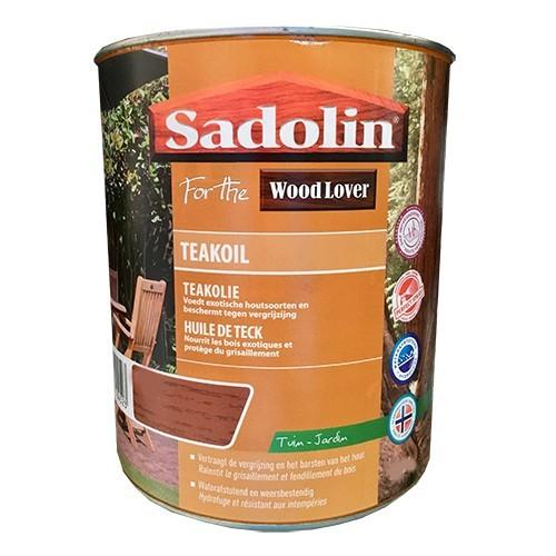 SADOLIN (Wood Lover) Huile de Teck Teinte Incolore