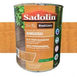 SADOLIN (Wood Lover) Huile pour Bangkirai 2,5L Brun