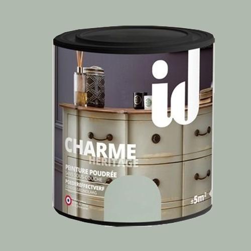 Id Peinture Charme Heritage 0 5l Gris Argent