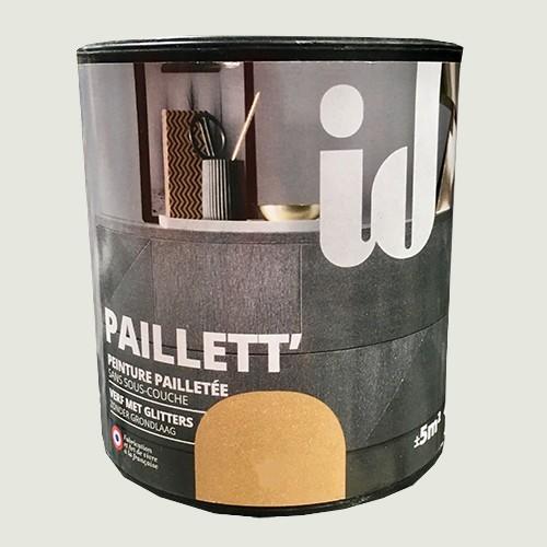 ID Peinture Paillett' Meuble 0,5L Nickel