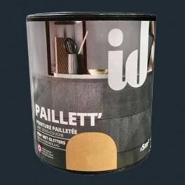 ID Peinture Paillett' Meuble 0,5L Carbone