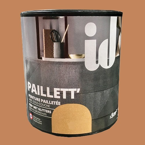 ID Peinture Paillett' Meuble 0,5L Cuivre