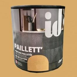 ID Peinture Paillett' Meuble 0,5L Or