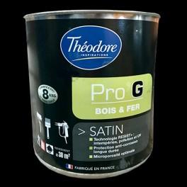 Théodore Pro'G Peinture Bois & Fer Noir