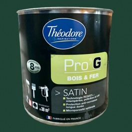 Théodore Pro'G Peinture Bois & Fer Vert jardin