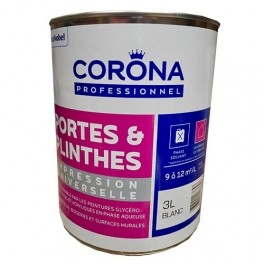 CORONA Professionnel Portes & Plinthes Impression Universelle 3L