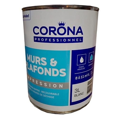 CORONA Professionnel Murs & Plafonds Impression 3L