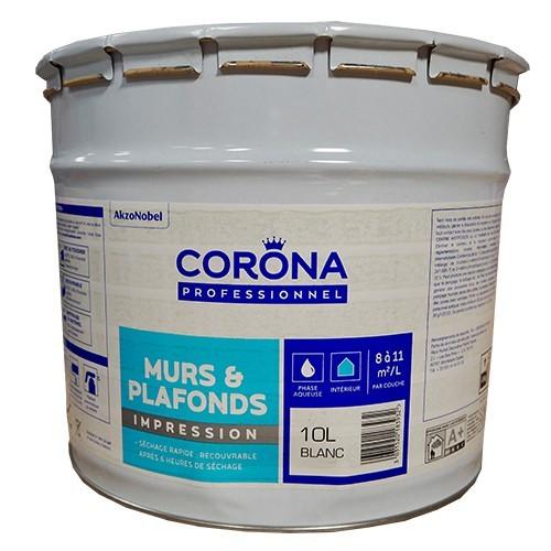 CORONA Professionnel Murs & Plafonds Impression 10L