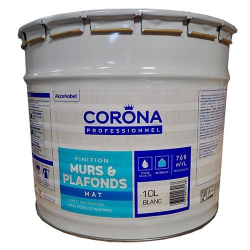 Corona Professionnel Murs Plafonds Mat Lessivable 10l Pas Cher En Ligne