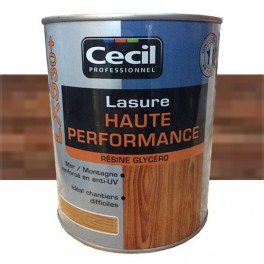 CECIL LX530+ Lasure Haute Performance Noyer