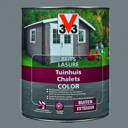 V33 Lasure Chalets Color Windstorm