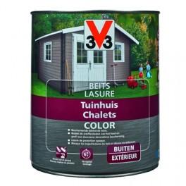 V33 Lasure Chalets Color Ice White
