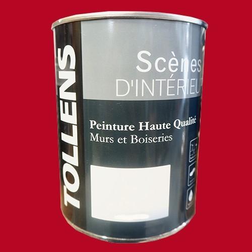 tollens peinture acrylique sc nes d 39 int rieur mat rouge. Black Bedroom Furniture Sets. Home Design Ideas