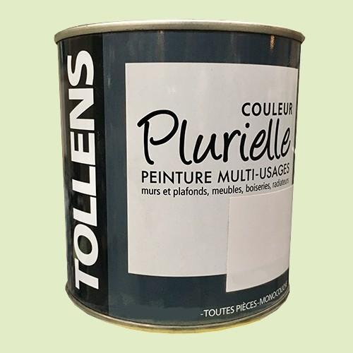"""TOLLENS Peinture acrylique multi-usages """"Couleur Plurielle"""" satin Sereine"""