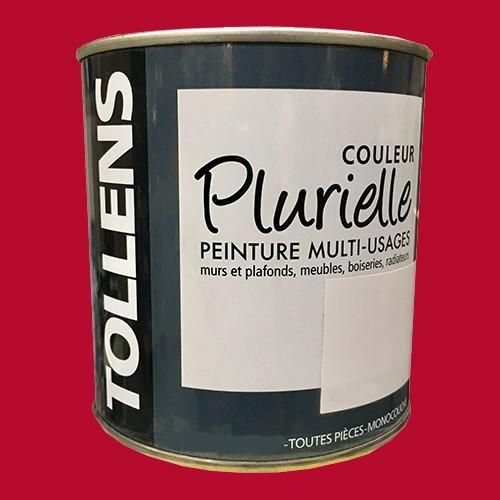 """TOLLENS Peinture acrylique multi-usages """"Couleur Plurielle"""" satin Pimenté"""