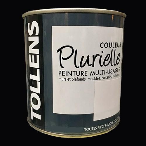 """TOLLENS Peinture acrylique multi-usages """"Couleur Plurielle"""" satin Noir"""