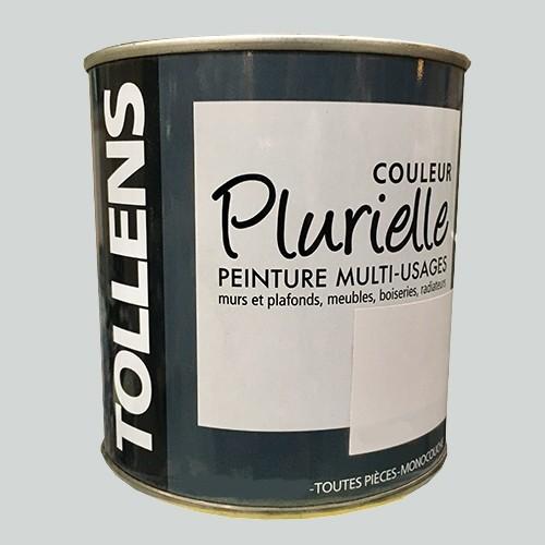 """TOLLENS Peinture acrylique multi-usages """"Couleur Plurielle"""" satin Gris frivole"""