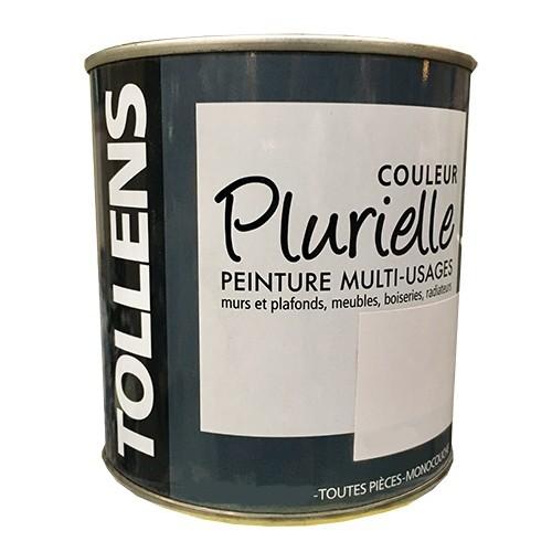 """TOLLENS Peinture acrylique multi-usages """"Couleur Plurielle"""" mat Blanc"""