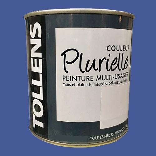 """TOLLENS Peinture acrylique multi-usages """"Couleur Plurielle"""" mat Mystérieuse"""