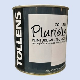 """TOLLENS Peinture acrylique multi-usages """"Couleur Plurielle"""" mat Rêveuse"""