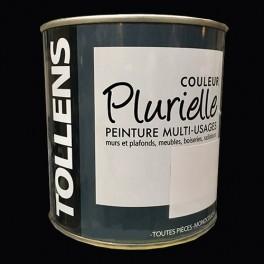 """TOLLENS Peinture acrylique multi-usages """"Couleur Plurielle"""" mat Noir intense"""