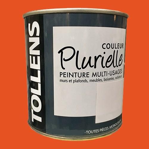 """TOLLENS Peinture acrylique multi-usages """"Couleur Plurielle"""" mat Piquante"""