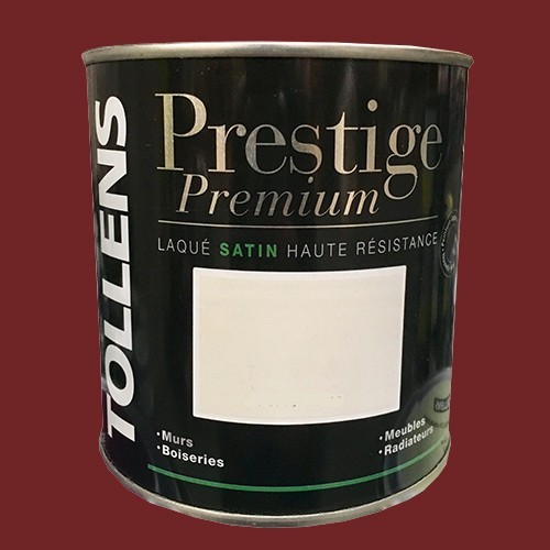 TOLLENS Peinture Prestige Premium Satin Laqué Sienne brûlée