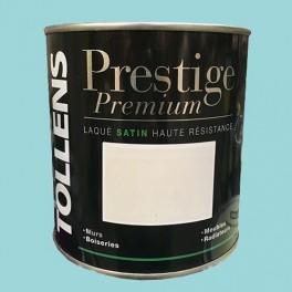 TOLLENS Peinture Prestige Premium Satin Laqué Bleu arctique