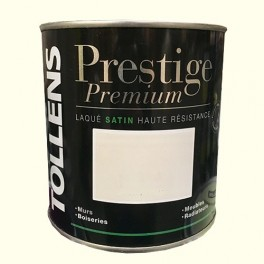 TOLLENS Peinture Prestige Premium Satin Laqué Blanc cassé