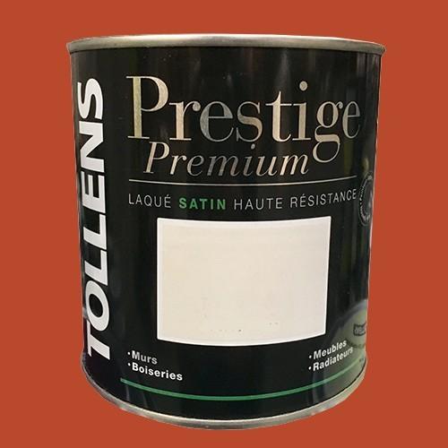 TOLLENS Peinture Prestige Premium Satin Laqué Brique