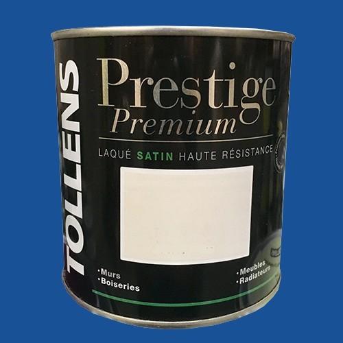 TOLLENS Peinture Prestige Premium Satin Laqué Bleu atlantide