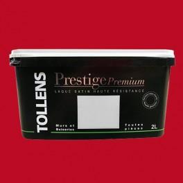 TOLLENS Peinture Prestige Premium Satin Laqué Rouge Highlands