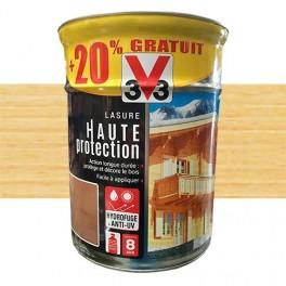 V33 Lasure Haute Protection 8ans Naturel