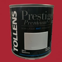 TOLLENS Peinture Prestige Premium Mat Semi-laqué Rouge passion