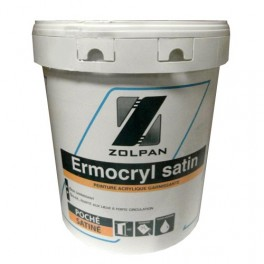 zolpan ermocryl satin blanc 20kgs pas cher en ligne. Black Bedroom Furniture Sets. Home Design Ideas