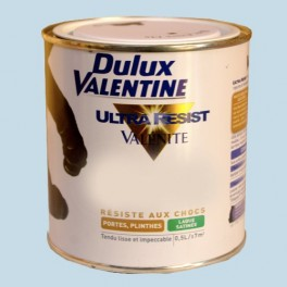 Dulux valentine ultra r sist valenite laque satin e bleu for Dulux valentine ultra resist fer